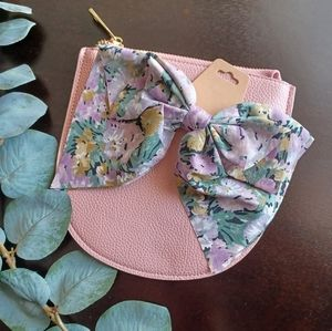 Floral Bow Barrette